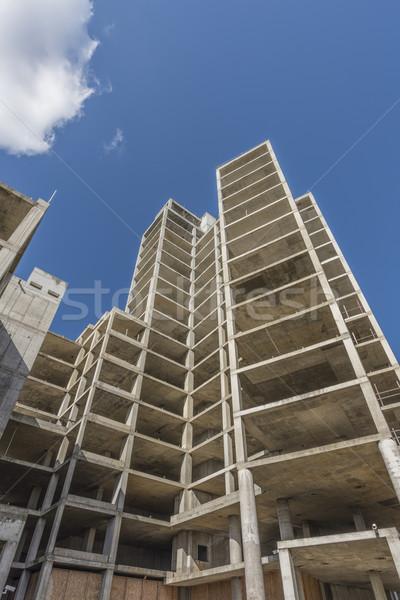 High rise construction Stock photo © paulfleet