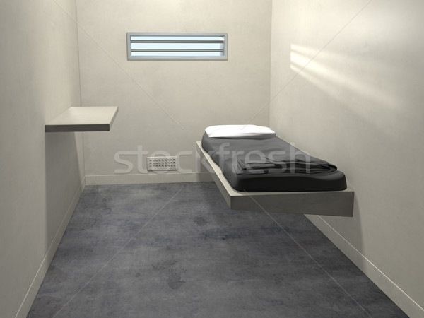 Modern Prison Cell Stock photo © paulfleet