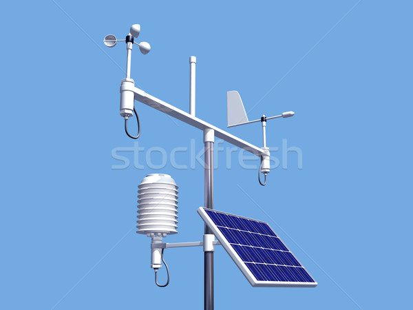 Weather station Stock photo © paulfleet