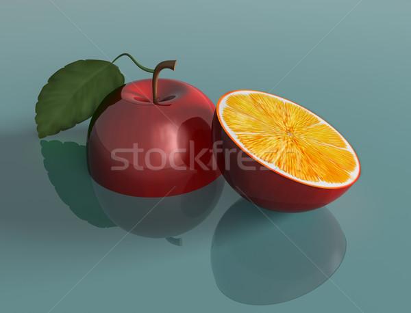 Genetically engineered apple Stock photo © paulfleet