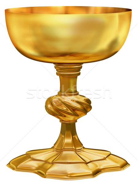 Ornate golden chalice Stock photo © paulfleet