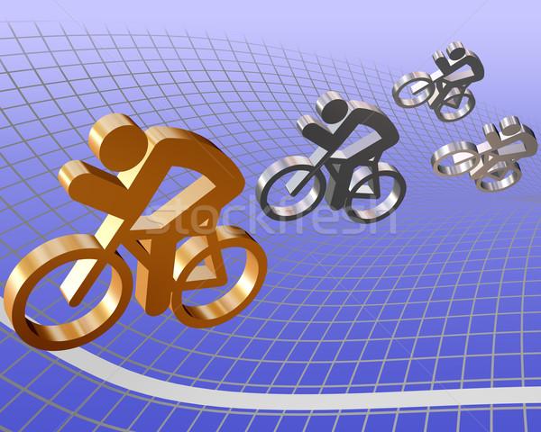 Bike Race Stock photo © paulfleet