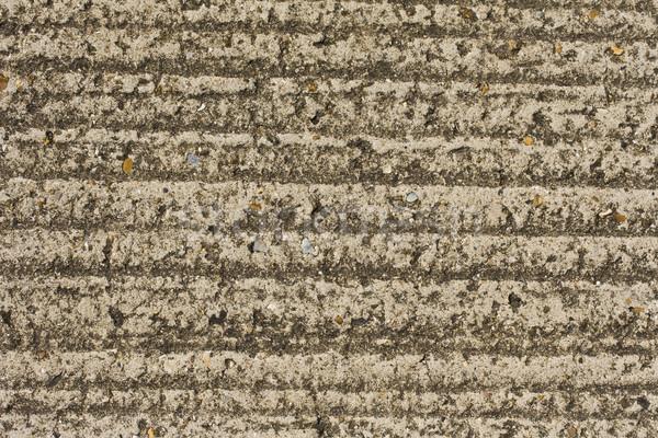 Grooved concrete floor Stock photo © paulfleet