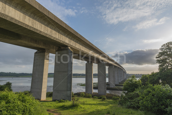 Orwell Bridge in Suffolk Stock photo © paulfleet