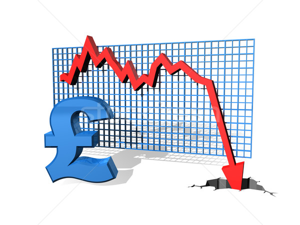 Falling Pound Stock photo © paulfleet