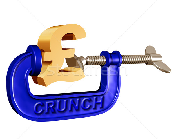Squeezing the Pound Stock photo © paulfleet