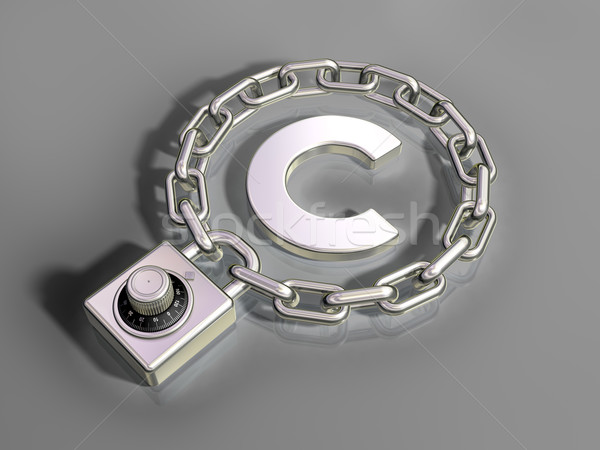 Copyright Protection Stock photo © paulfleet