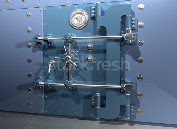 Bank Vault Stock photo © paulfleet