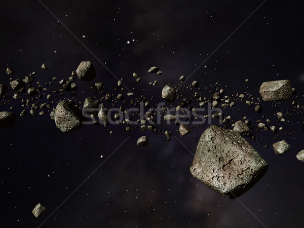 Stock photo: Kuiper Belt