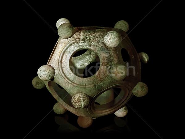 Historic Roman Dodecahedron Stock photo © paulfleet
