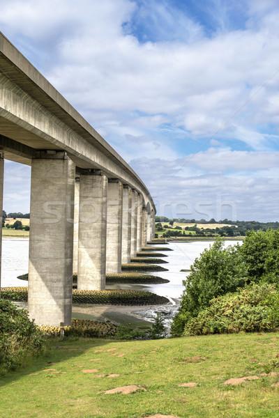 Orwell Bridge Stock photo © paulfleet