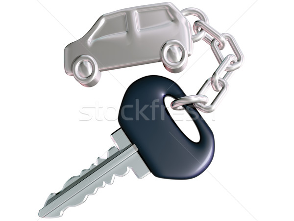 Car Key and Car Fob Stock photo © paulfleet
