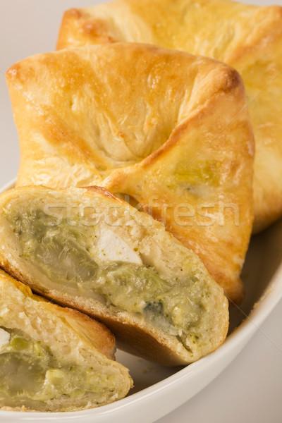 野菜 チーズ 表 ソーダ オレンジ オレンジジュース ストックフォト © paulovilela