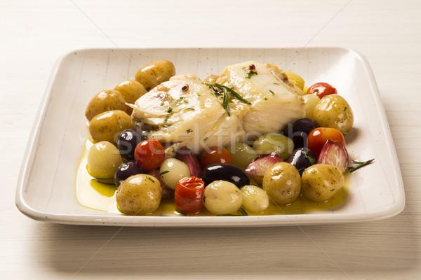 типичный блюдо оригинальный продовольствие ресторан приготовления Сток-фото © paulovilela