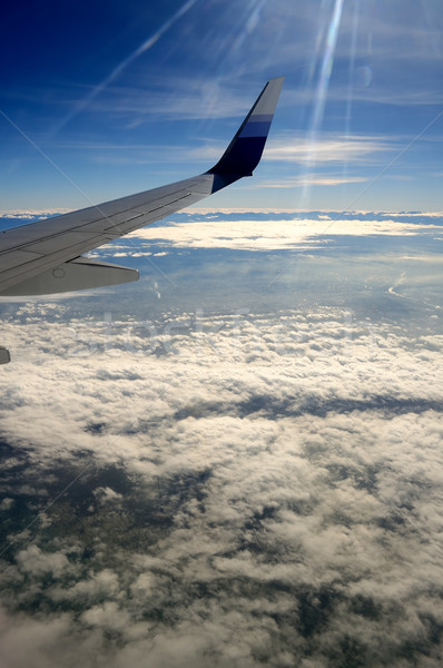 Stock photo: View from Airplane