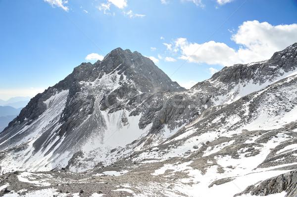 Yulong Snow Mountain Stock photo © paulwongkwan