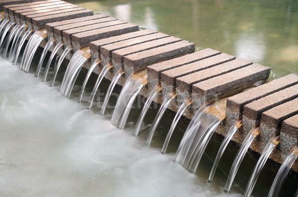 Waterfall decorate Stock photo © paulwongkwan