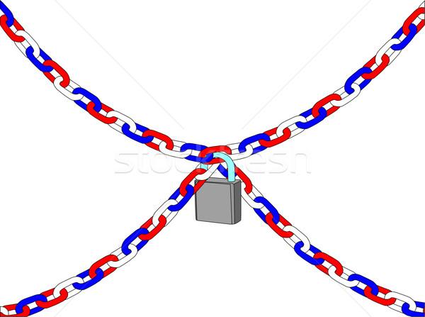 chain Stock photo © pavelmidi