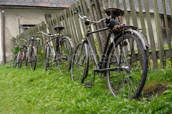 velocipedes Stock photo © pavelmidi