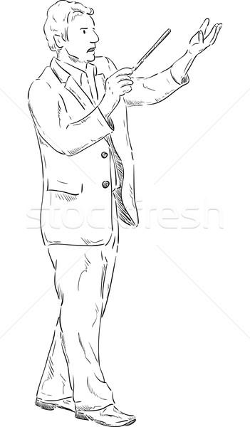 conductor  Stock photo © pavelmidi