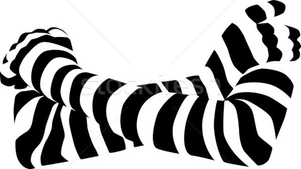 striped arms Stock photo © pavelmidi