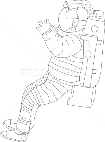 spaceman Stock photo © pavelmidi