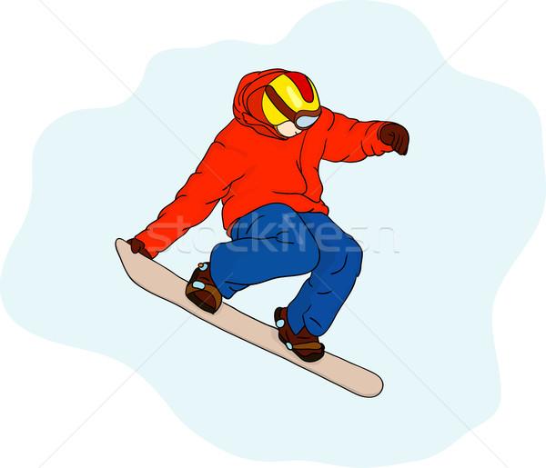 snowboard Stock photo © pavelmidi