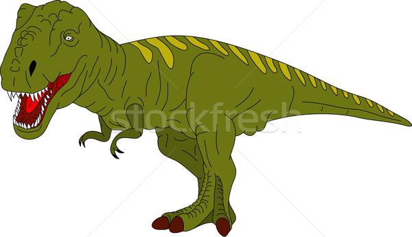 Stock photo: t rex