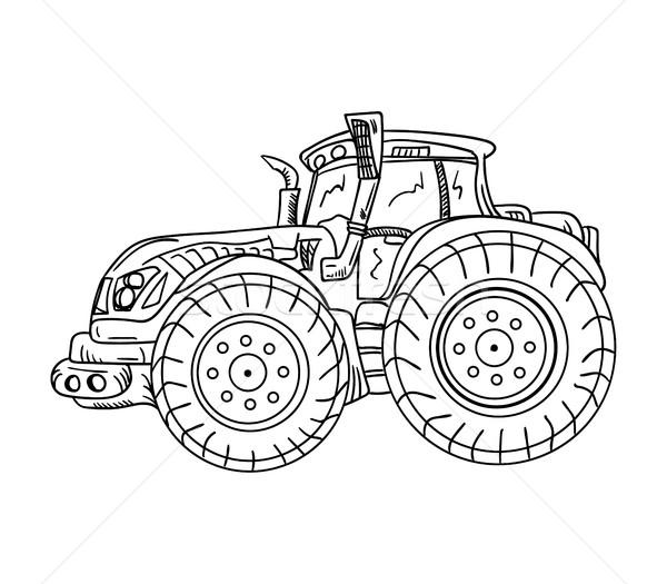 tractor Stock photo © pavelmidi