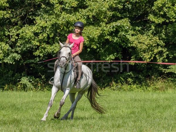 young girl  Stock photo © pavelmidi