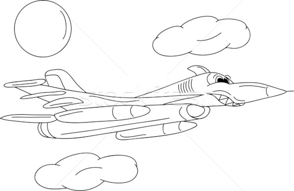 battle plane Stock photo © pavelmidi