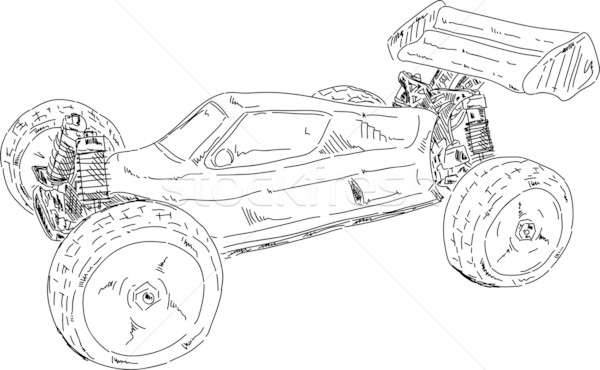 buggy offroad Stock photo © pavelmidi