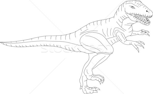 t-rex Stock photo © pavelmidi