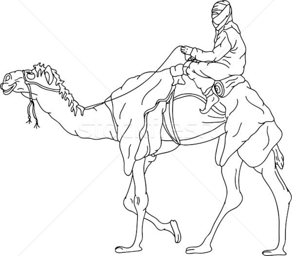 bedouin Stock photo © pavelmidi
