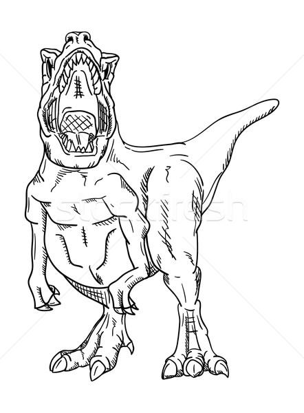vector - dinosaur  Stock photo © pavelmidi