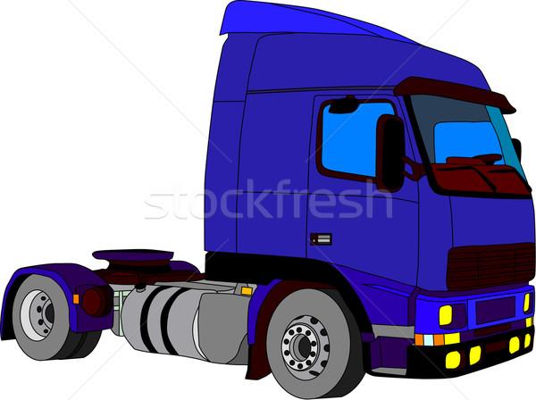 truck Stock photo © pavelmidi