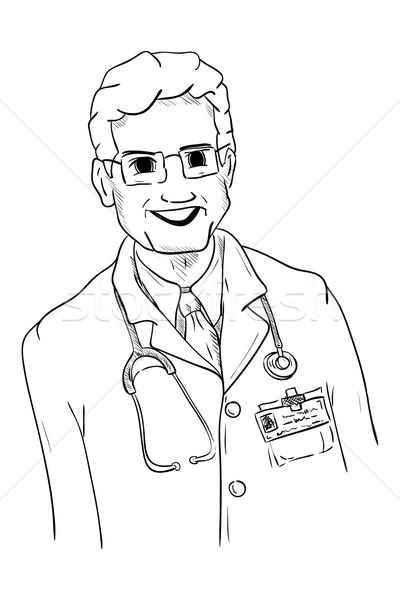 Maduro médico vetor saúde hospital medicina Foto stock © pavelmidi