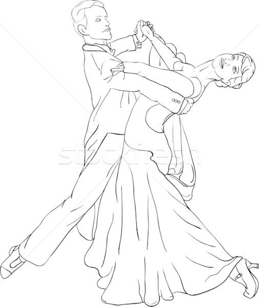 dancers Stock photo © pavelmidi