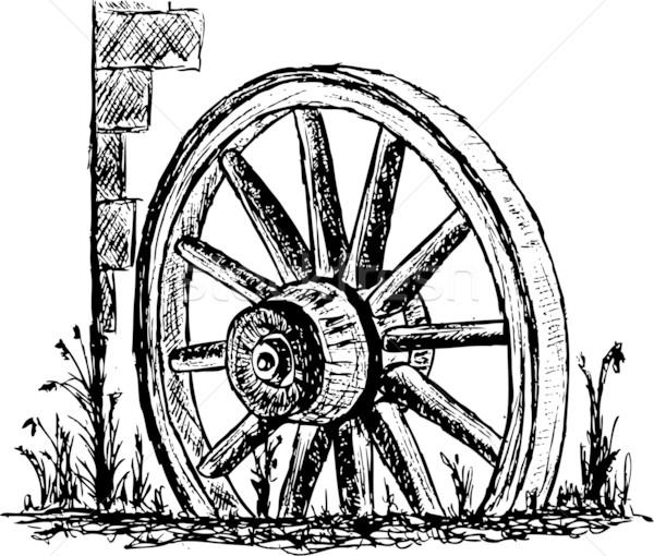 wheel Stock photo © pavelmidi