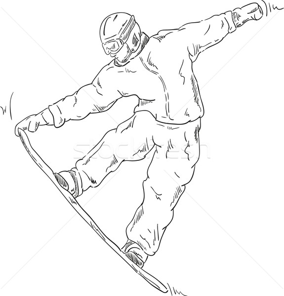 snowboard Stock photo © pavelmidi