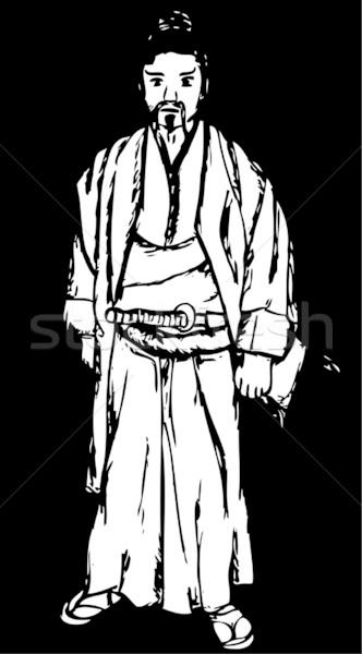samurai Stock photo © pavelmidi