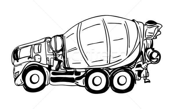 Stock photo: agitation truck