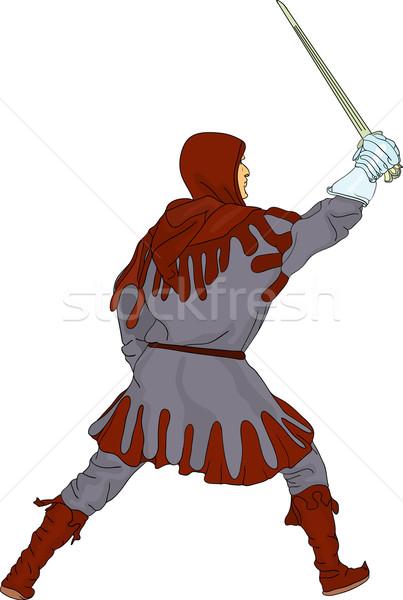 Stock photo: knight