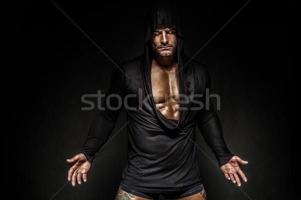 портрет человека красивый мужчина лице Сток-фото © PawelSierakowski