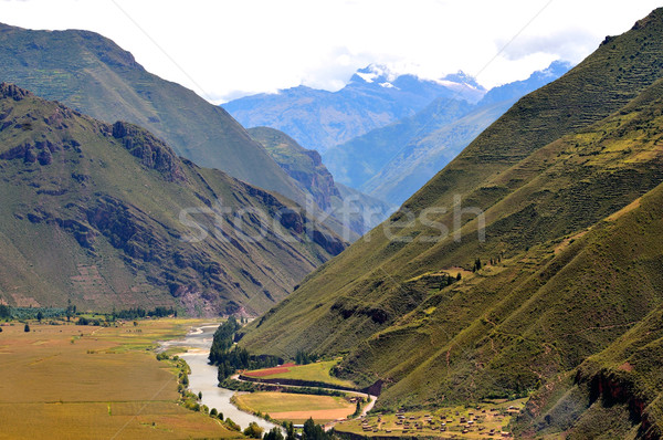 горные стране Перу здании рок Сток-фото © pazham