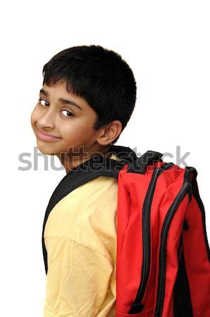 élégant indian Kid heureux visage Photo stock © pazham