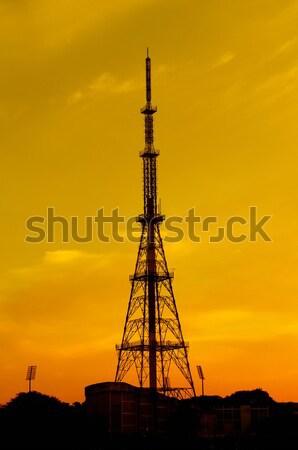 связи башни технологий телефон кадр области Сток-фото © pazham