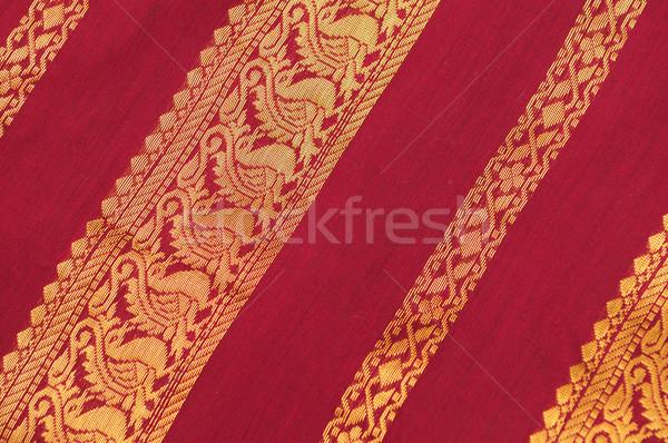 Silk Saree Stock photo © pazham