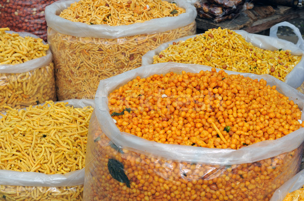 Indian Snacks Stock photo © pazham