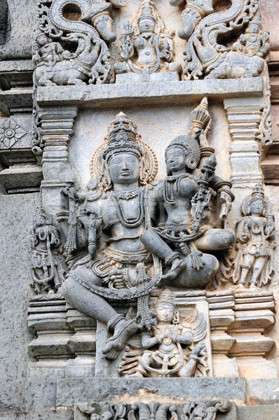 Foto stock: Ruinas · antigua · indio · templo · textura · arte